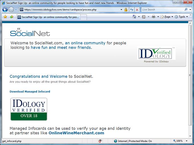 SocialNet joined