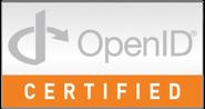 OpenID Certified logo
